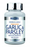 Scitec Essentials Garlic & Parsley, 100 Kapseln Dose